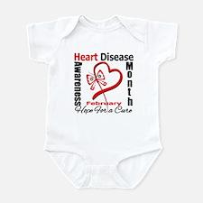 Heart Disease Month Infant Bodysuit
