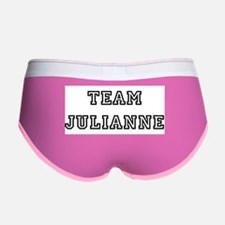TEAM JULIANNE T-SHIRTS Women's Boy Brief