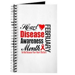 HeartDiseaseAwarenessMonth Journal