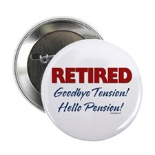 "Retired: Goodbye Tension Hell 2.25"" Button (10 pac"