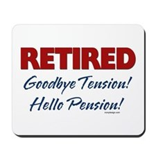 Retired: Goodbye Tension Hell Mousepad