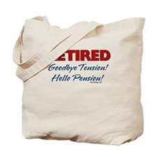 Retired: Goodbye Tension Hell Tote Bag