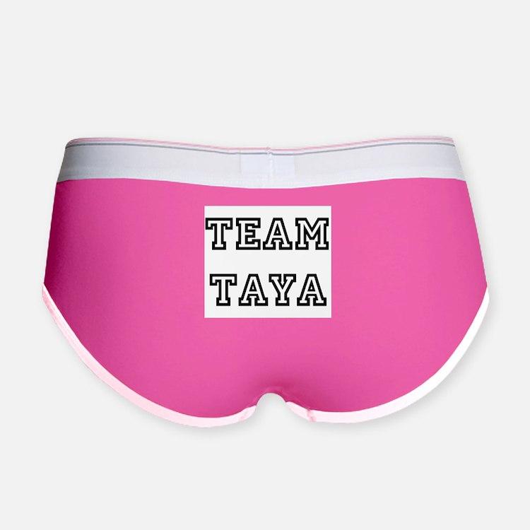 TEAM TAYA T-SHIRTS Women's Boy Brief