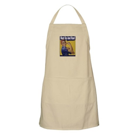 Shut Up and Run! Apron