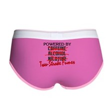 Powered By Two-Stroke Fumes Women's Boy Brief