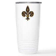 Fleur Fancy Football Travel Mug