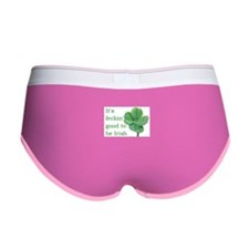 Good to be Irish Women's Boy Brief