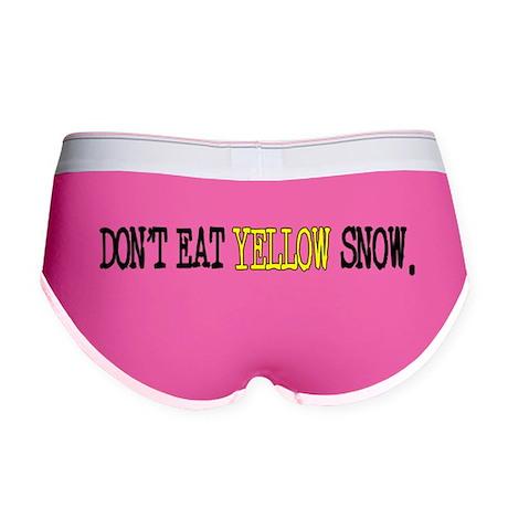 Yellow Snow Women's Boy Brief