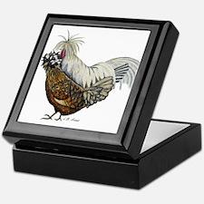 Fun Chickens Keepsake Box