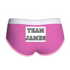TEAM JAMES Women's Boy Brief