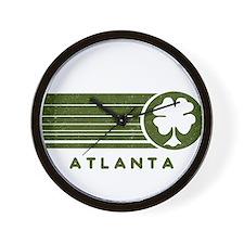 Atlanta Irish Wall Clock