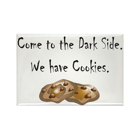 Come to the Dark Side. Rectangle Magnet (100 pack)