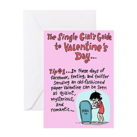 Single Girl's Guide Greeting Card