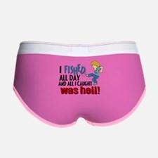 I Fished All Day Women's Boy Brief