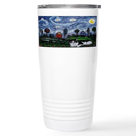 Thinking of Stars Stainless Steel Travel Mug