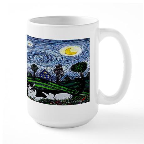 Thinking of Stars Large Mug