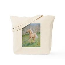 Cute Horse watercolor art Tote Bag