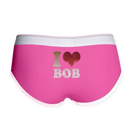 I Love Bob Women's Boy Brief
