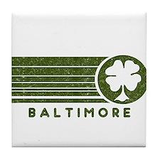 Baltimore Irish Tile Coaster