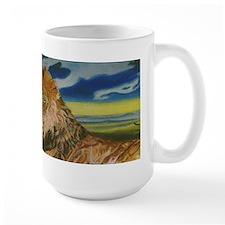 lion man Mug