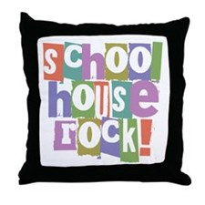 Schoolhouse Rock! Throw Pillow