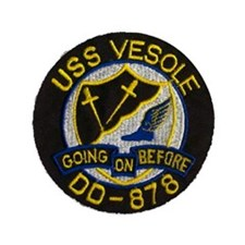 "USS VESOLE 3.5"" Button (100 pack)"