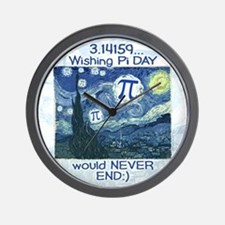 Pi Day never ends Wall Clock