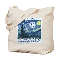 Pi Day never ends Tote Bag