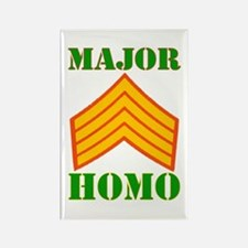 Major Homo Rectangle Magnet