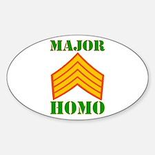 Major Homo Decal