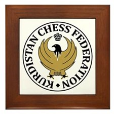 Kurdistan Chess Federation Framed Tile