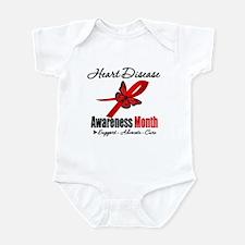 ButterflyHeartDiseaseMonth Infant Bodysuit