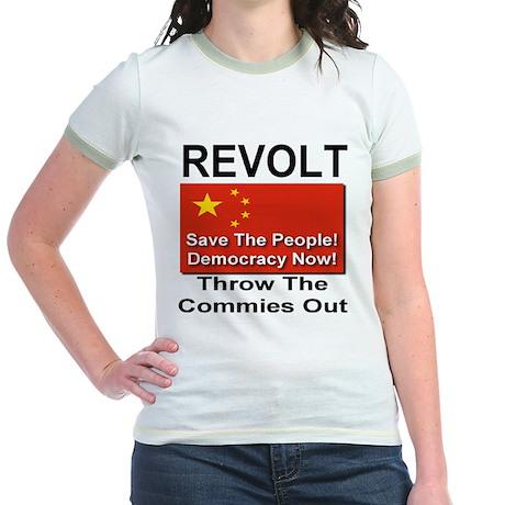 Revolt Jr. Ringer T-Shirt