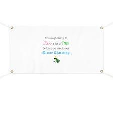 Kiss Frog Prince Banner