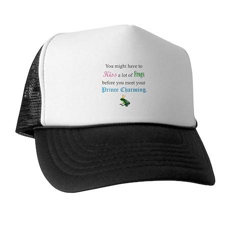 Kiss Frog Prince Trucker Hat