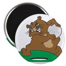 Golf Gopher Magnet