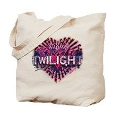 Twilight Valentine Magic Heart Tote Bag