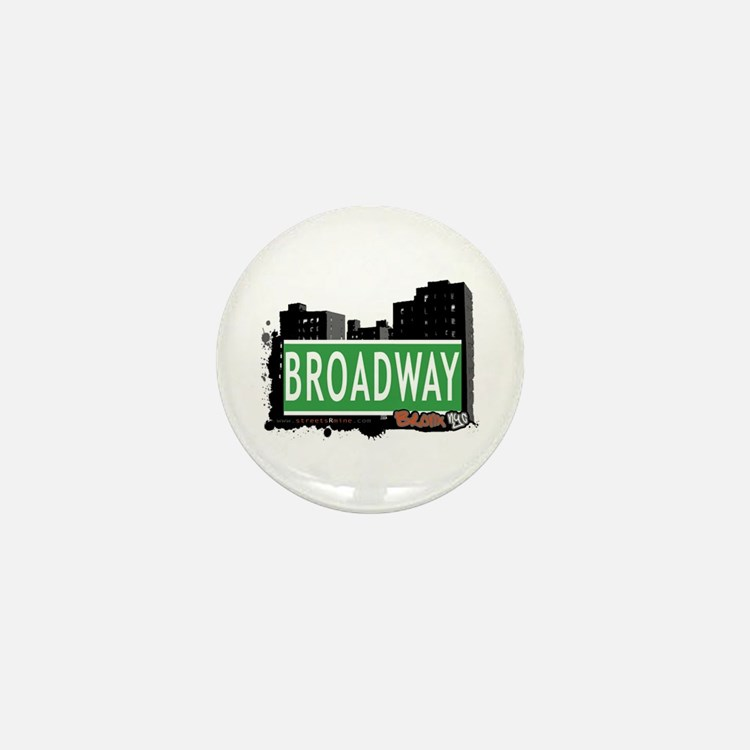 Broadway, Bronx, NYC Mini Button