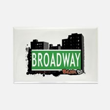 Broadway, Bronx, NYC Rectangle Magnet