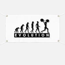 Evolution of Body Building Banner