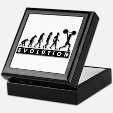 Evolution of Body Building Keepsake Box