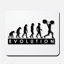 Evolution of Body Building Mousepad