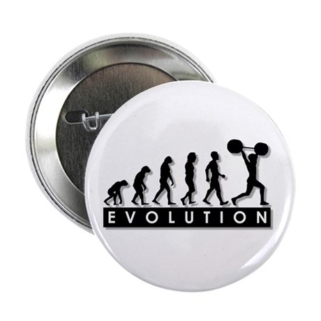 "Evolution of Body Building 2.25"" Button (10 pack)"