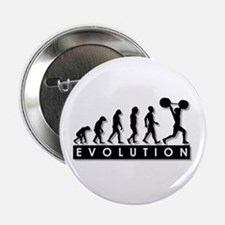 """Evolution of Body Building 2.25"""" Button"""