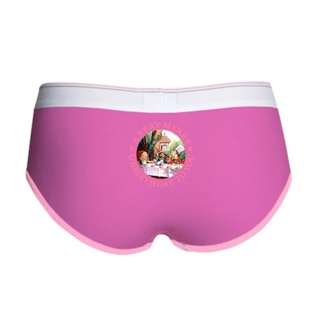 A VERY MERRY UNBIRTHDAY TO YOU Women's Boy Brief