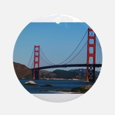 Golden Gate Bridge from Baker Ornament (Round)