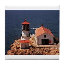 Point Reyes Lighthouse Tile Coaster
