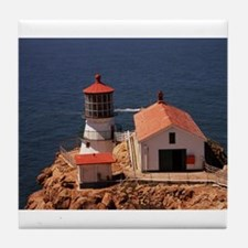 Point Reyes Lighthouse Tile Coaster