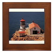 Point Reyes Lighthouse Framed Tile