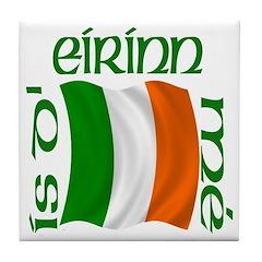 'I Am of Ireland' (Flag) Ceramic Tile